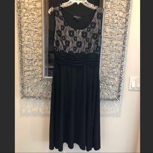 Like New! Below knee size 10 black dress